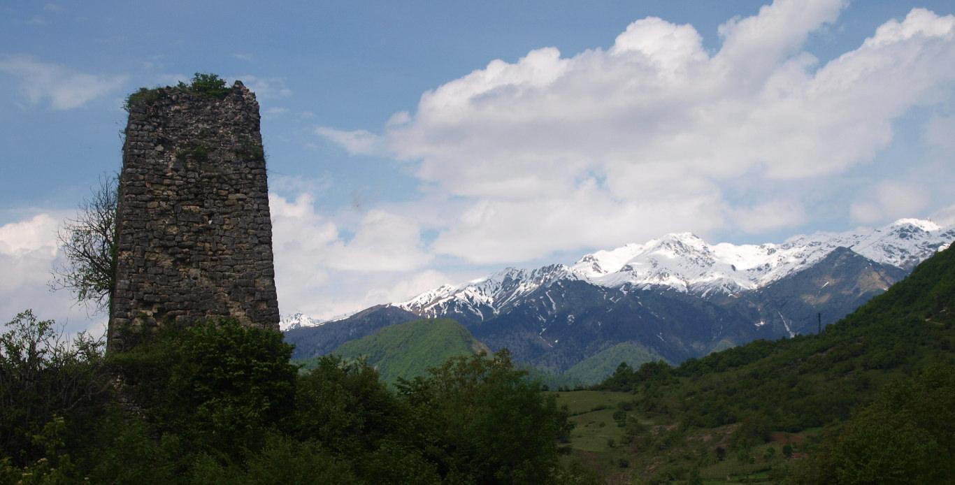 Georgia - Orbeli fortress