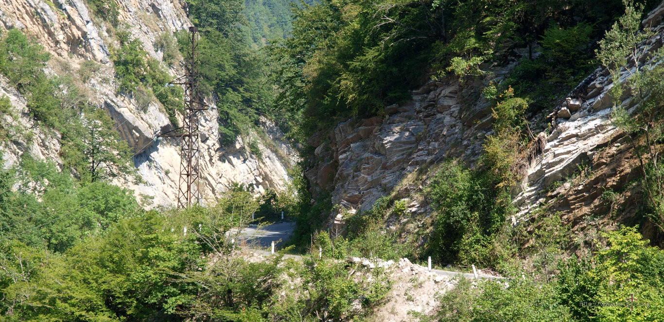 Tvishi road