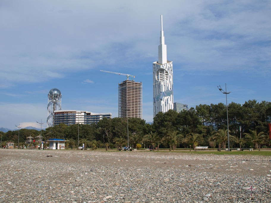 (English) Batumi beach