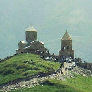 Собор Троицы Гергети