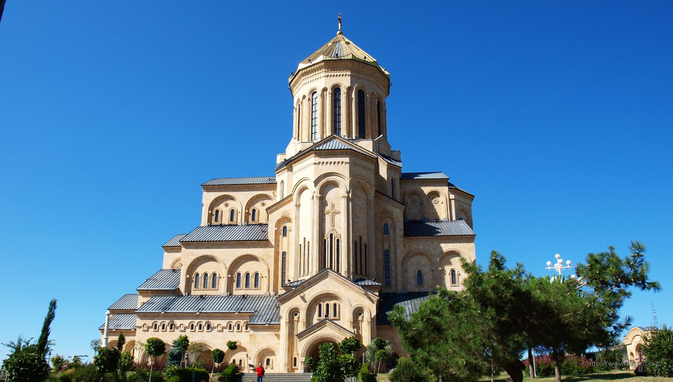 Georgia - Tbilisi - Holy Trinity Cathedral