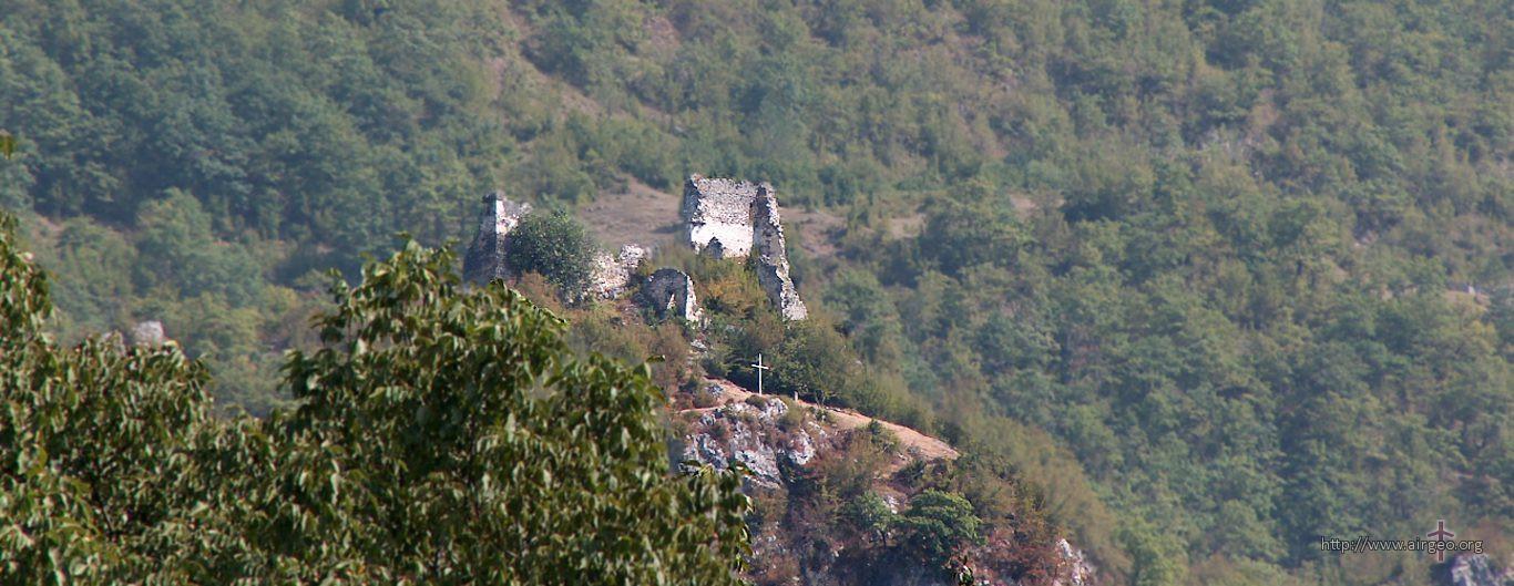 Georgia - Lechkhumi - Tsageri - fortress Muristsikhe