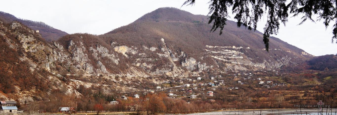 Georgia - Lechkhumi - Tsageri - Muristsikhe - Chkhuteli