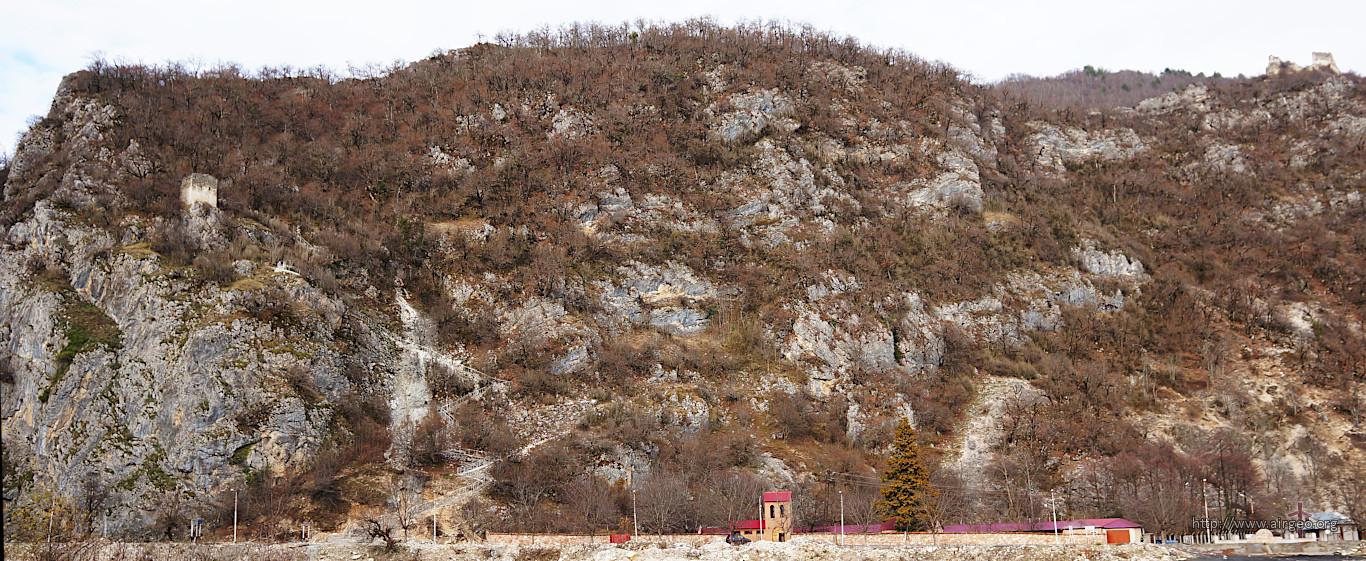 Georgia - Lechkhumi - Tsageri - Muristsikhe - Mountain