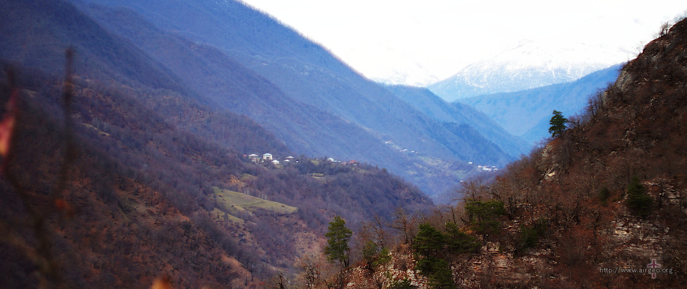 Georgia - Lechkhumi - Tsageri - Muristsikhe - Svaneti view